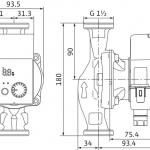 Циркулационна помпа Wilo Yonos Pico 25/1-4  🟢 В наличност - WILO2976655.jpg
