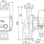 Циркулационна помпа Wilo Yonos Pico 30/1-4  🟢 В наличност - WILO2977012.jpg