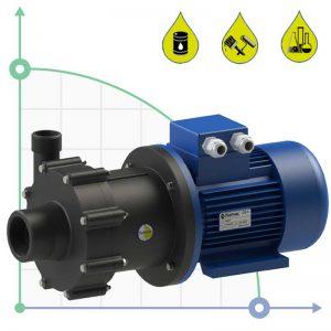 Центробежна помпа CM15/PVDF с магнитен куплунг  🔴 Доставка по заявка