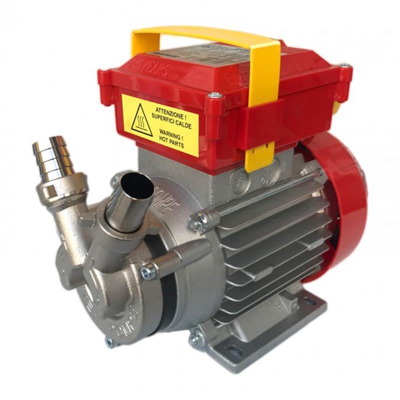 Трансферна помпа за горещи течности от неръждаема стомана Rover NOVAX 20B, 28 л/min, 1x230V  🟢 В наличност - ROVERNovax.jpg
