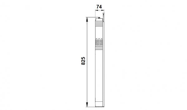 Потопяема сондажна помпа Grundfos SQE 2-85 пакет  🟢 В наличност