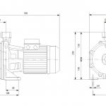 Grundfos NS 5-33 1x230V Центробежна хоризонтална помпа  🟢 В наличност - изтеглен файл