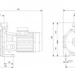 Grundfos NS 5-60 1x230V Центробежна хоризонтална помпа  🟢 В наличност - изтеглен файл