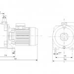 Grundfos NS 6-40 1x230V Центробежна хоризонтална помпа  🟢 В наличност - изтеглен файл