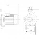 Grundfos NS 30-18 1x230V Центробежна хоризонтална помпа  🟢 В наличност - изтеглен файл