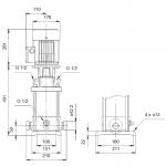 Grundfos CRT 2-13 A-P-A-E-AUUE 3x400V Многостъпална помпа от титан  🔴 Доставка по заявка - изтеглен файл
