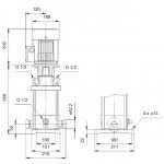 Grundfos CRT 4-14 A-P-A-E-AUUE 3x400V Многостъпална помпа от титан  🔴 Доставка по заявка - изтеглен файл