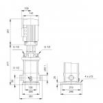 Grundfos CRT 8-3 A-P-A-E-AUUE 3x400V Многостъпална помпа от титан  🔴 Доставка по заявка - изтеглен файл