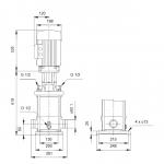 Grundfos CRT 8-8 A-P-A-E-AUUE 3x400V Многостъпална помпа от титан  🔴 Доставка по заявка - изтеглен файл