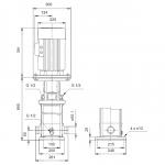 Grundfos CRT 8-16 A-P-A-E-AUUE 3x400V Многостъпална помпа от титан  🔴 Доставка по заявка - изтеглен файл