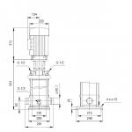 Grundfos CRT 16-4 A-P-A-E-AUUE 3x400V Многостъпална помпа от титан  🔴 Доставка по заявка - изтеглен файл