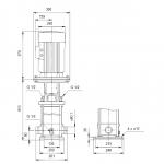 Grundfos CRT 16-8 A-P-A-E-AUUE 3x400V Многостъпална помпа от титан  🔴 Доставка по заявка - изтеглен файл